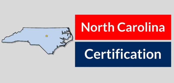 North Carolina HVAC Certification