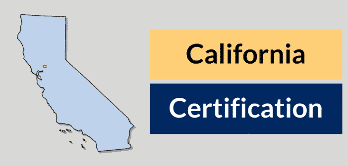 California HVAC Certification