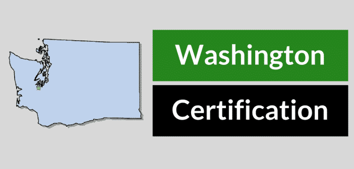 Washington HVAC Certification