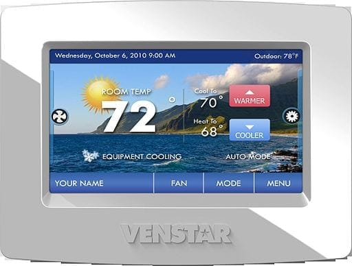 Digital thermostats are great options for HVAC systems