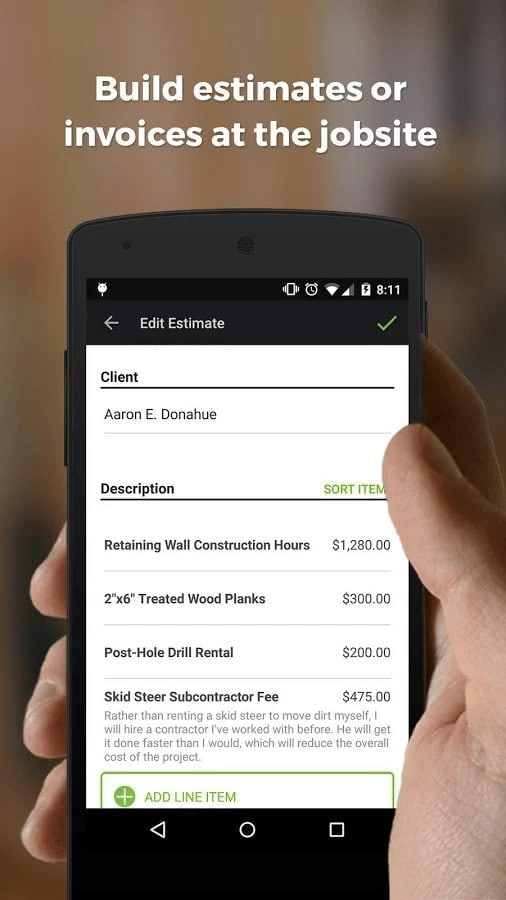 The Top HVAC Apps That Every HVAC Tech Should Have On Their Phone - Joist invoice