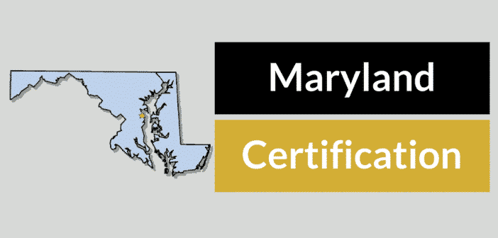 Maryland HVAC Certification