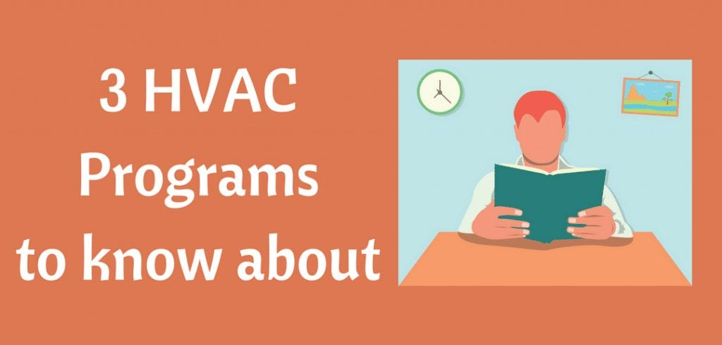 3 HVAC programs reviewed