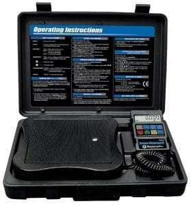 mastercool 98210 is a great refrigerant scale for its high degree of accuracy