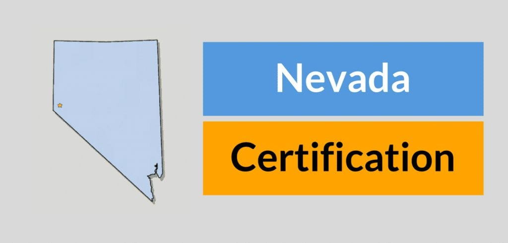 Nevada HVAC Contractors certification