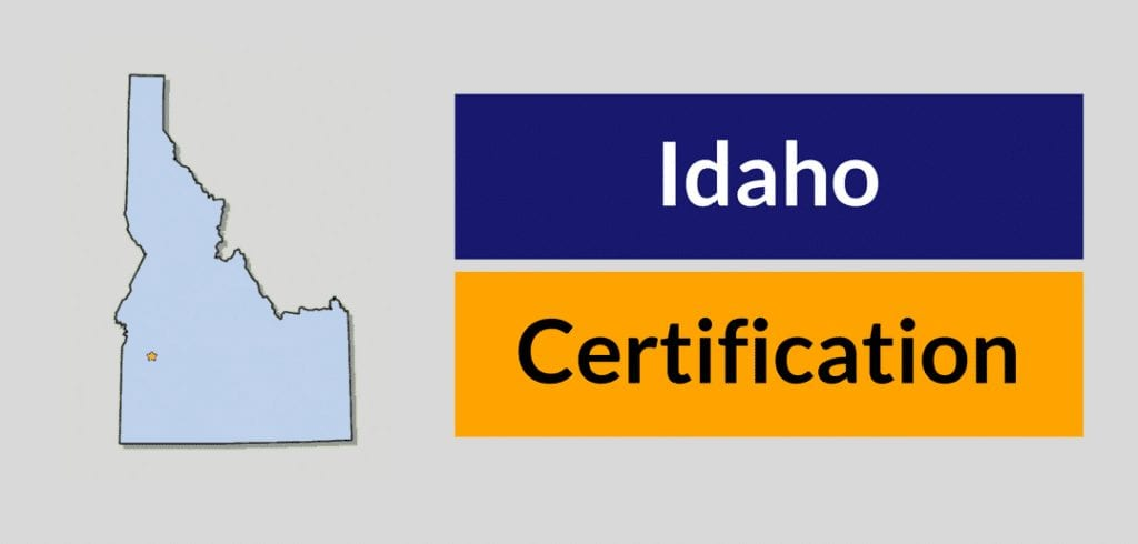 Idaho Certification for HVAC