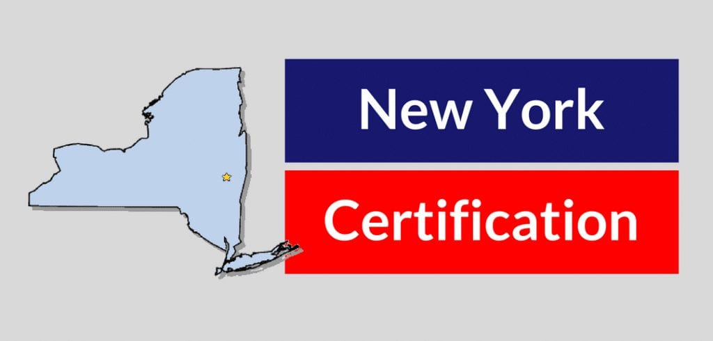 new york hvac certification