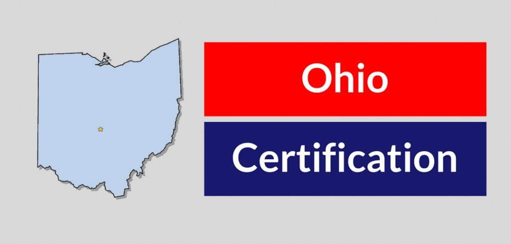 Ohio HVAC certifcation