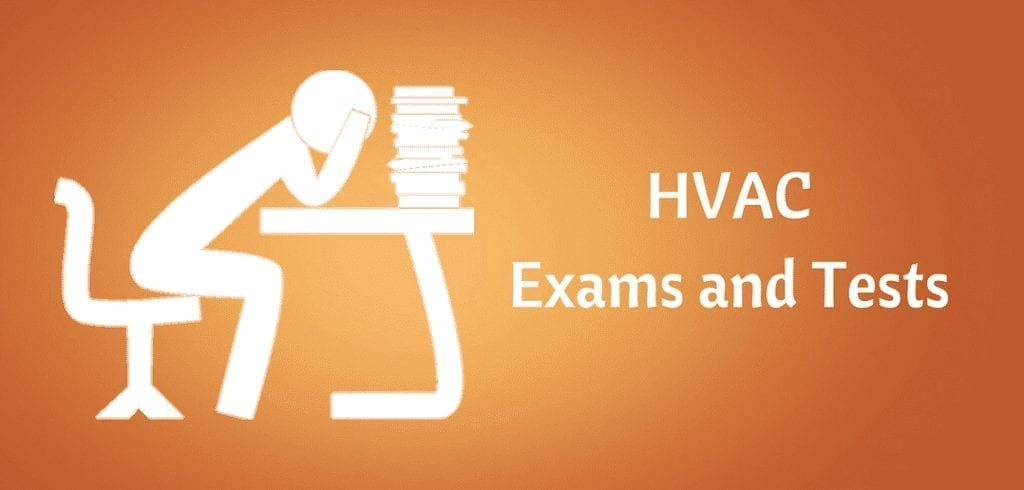 hvac exams and tests