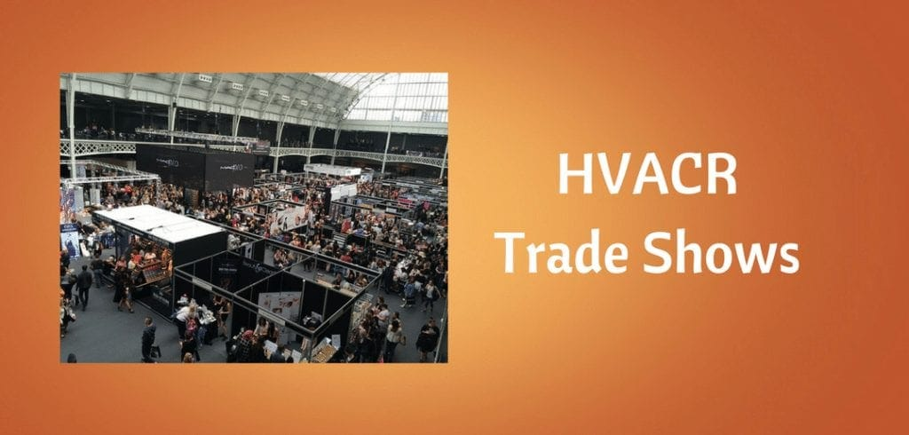 hvac refrigeration trade shows