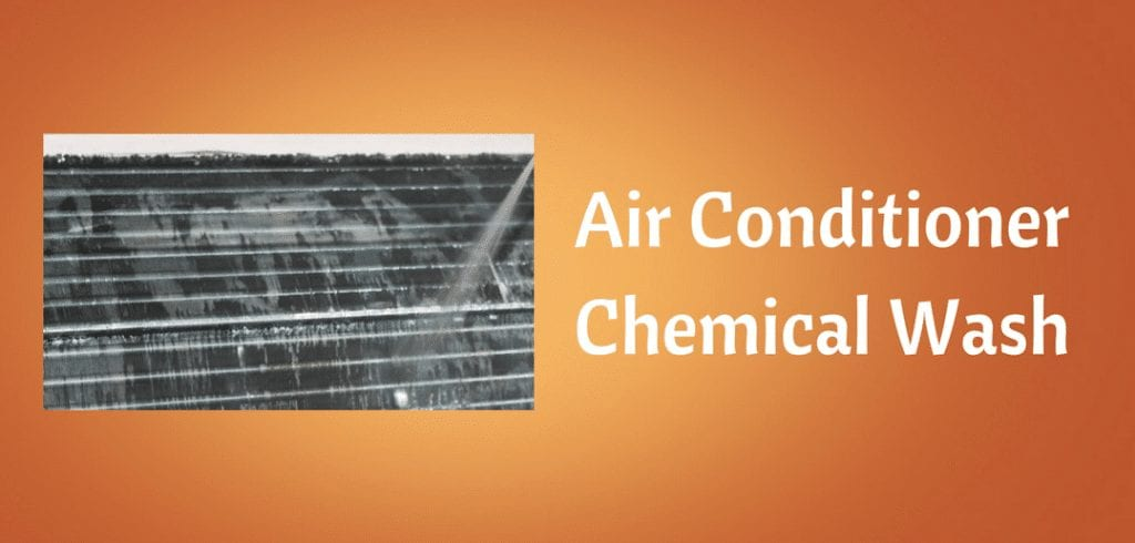 air conditioning cleaning and wash