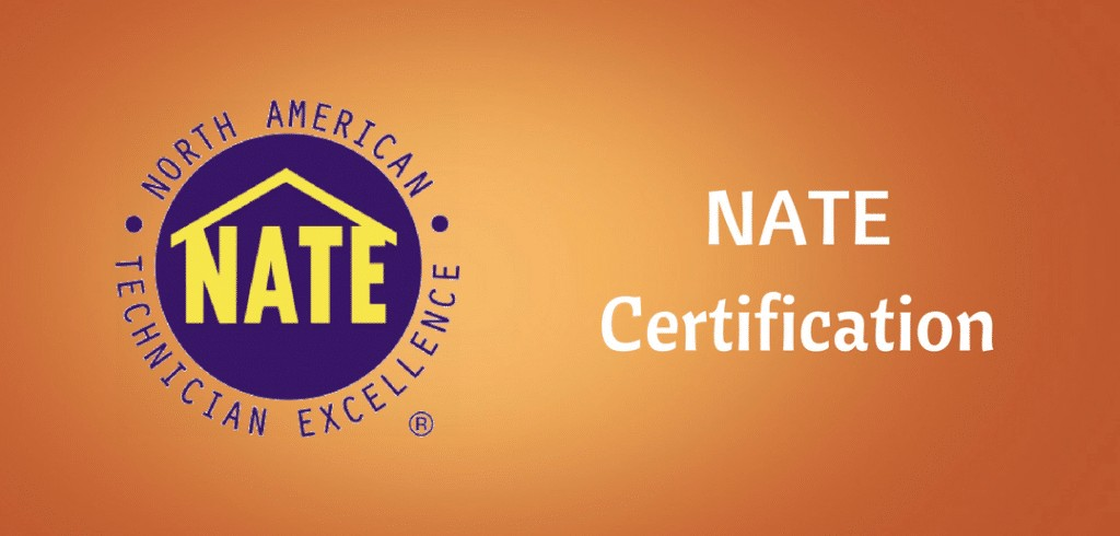 Nate Certification Everything You Need To Know Hvac Training 101
