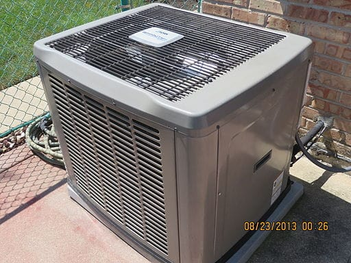 HVAC condenser units should be kept clear of obstructions