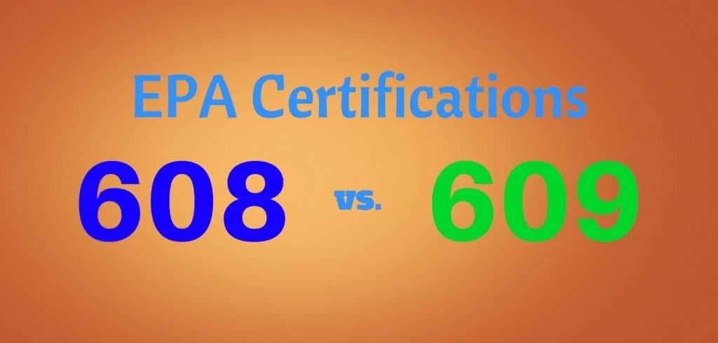Epa Section 608 Vs Section 609 What You Need To Know Hvac