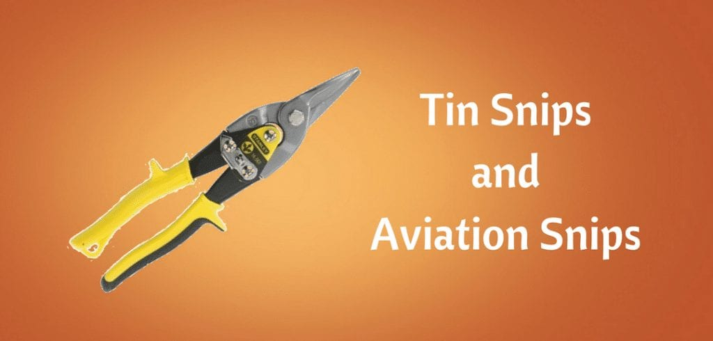 tin snips and aviation snips