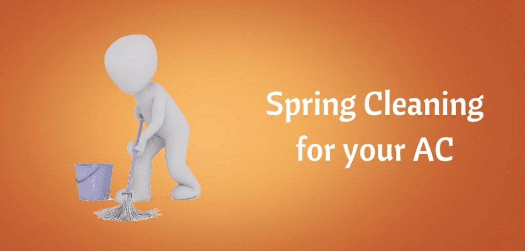 spring cleaning for your ac