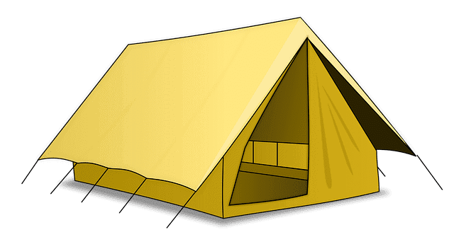 you can have air conditioning in a tent!